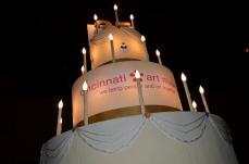 A cake decoration at the Cincinnati Art Museum's Taste of Duveneck.