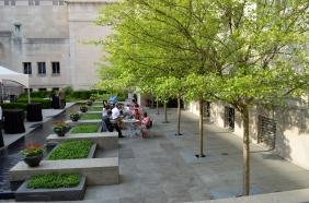The Alice Bimel Courtyard at Taste of Duveneck.